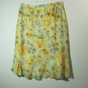 Alfred Dunner Versailles Roses Skirt